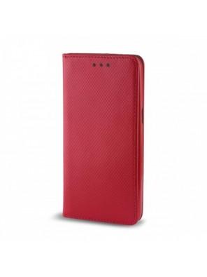 Θήκη Flip Cover Smart Magnet για Huawei Mate 30 Lite (Κόκκινο)