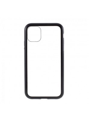 Θήκη Magnetic Glass Back Cover για iPhone 11 Pro (Μαύρο)