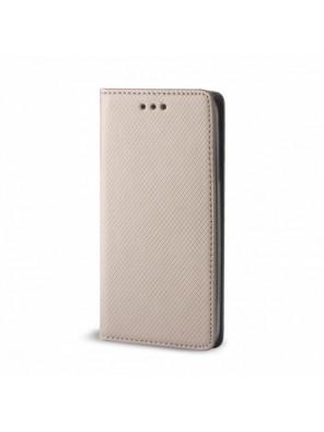 Θήκη Flip Cover Smart Magnet για Huawei Nova 5T (Χρυσό)