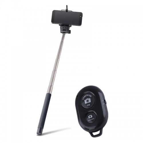 Selfie Stick Bluetooth Wireless Remote (Μαύρο)