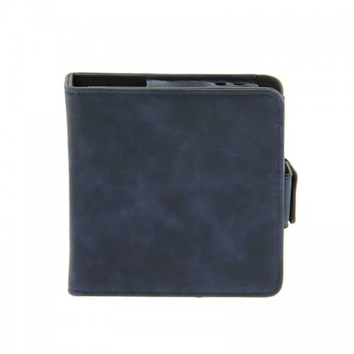 Mini Θήκη από Συνθετικό Δέρμα για Αξεσουάρ iQos (Μπλε)