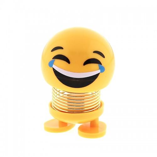 Διακοσμητικό Ελατήριο Emoji Laugh (Design)