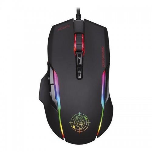Ποντίκι Gaming Zeroground RGB MS-3600G KENNYO (Μαύρο)