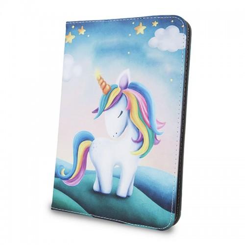 Θήκη Tablet Unicorn Flip Cover για Universal 9-10' (Design)