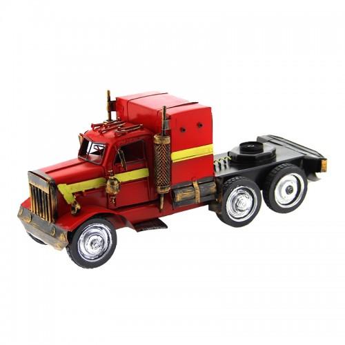 Διακοσμητικό Μεταλλικό Φορτηγό (Κόκκινο)
