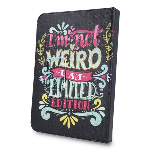 Θήκη Tablet I'm Not Weird Flip Cover για Universal 9-10' (Design)