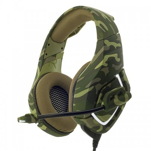 Gaming Ακουστικά Spirit Of Gamer με μικρόφωνο ELITE H-50 ARMY MIC-EH50A (Χακί)