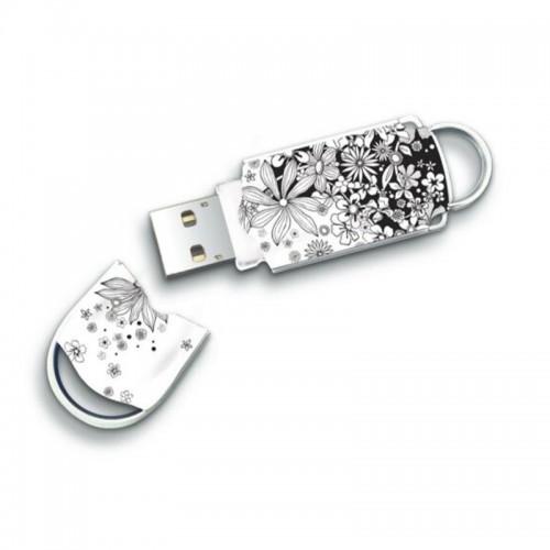 USB Integral Xpression Flower 32GB (Άσπρο)