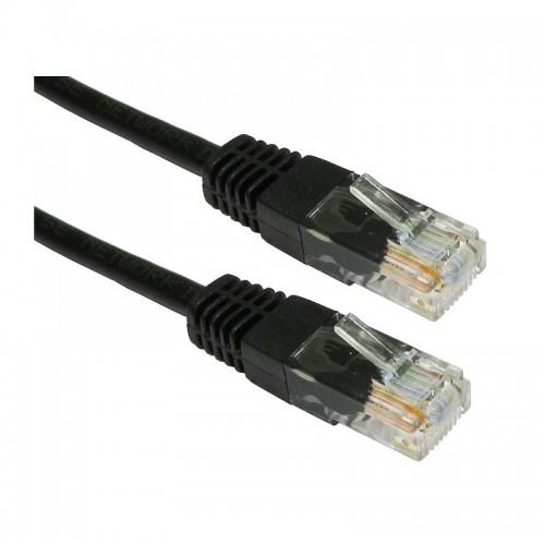 Καλώδιο Powertech Ethernet 5m UTP (Μαύρο)