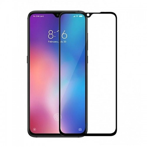 Tempered Glass Powertech 5D TGC-0299 για Xiaomi Mi 9SE (Black)