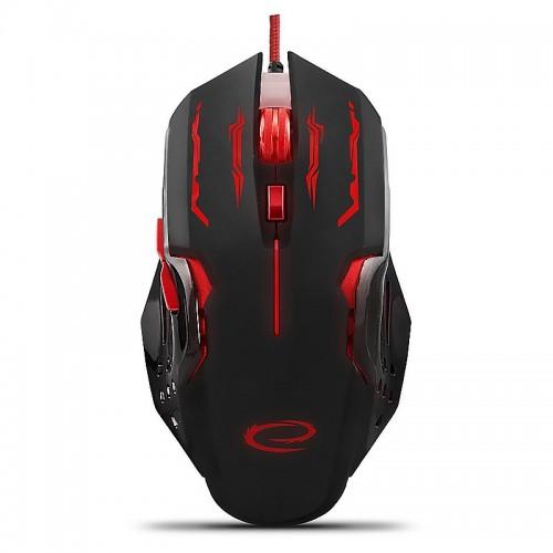 Gaming Ενσύρματο Ποντίκι MX403 Apache EGM403R (Κόκκινο - Μαύρο)