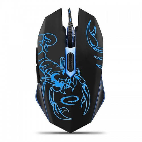 Gaming Ενσύρματο Ποντίκι MX203 Scorpio EGM203B (Μαύρο)