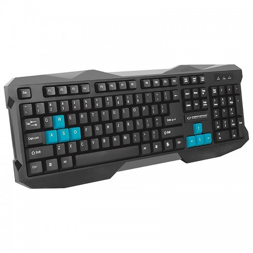 Gaming Πληκτρολόγιο KX101 Rook EGK101B (Μπλε - Μαύρο)