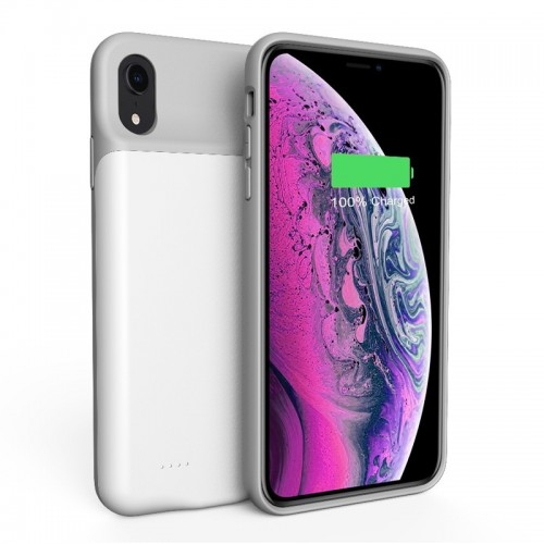 Power Case 4000mA για iPhone XS Max (Άσπρο)