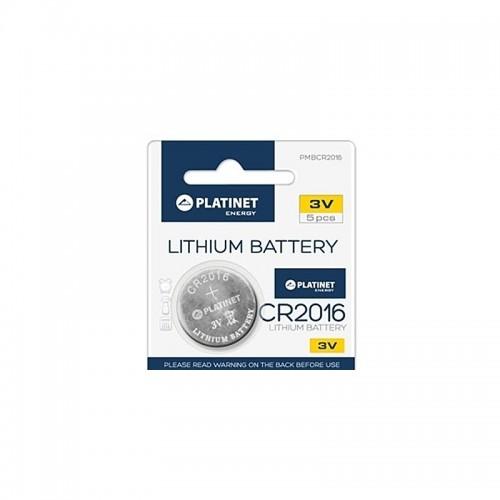 Μπαταρία Platinet Lithium CR2016 (Ασημί)