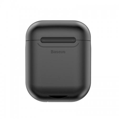 Θήκη Baseus για ασύρματη φόρτιση Apple Airpods 5V/1A (Μαύρο)