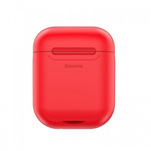 Θήκη Baseus για ασύρματη φόρτιση Apple Airpods 5V/1A (Κόκκινο)