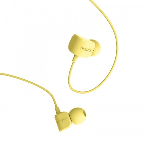 Ακουστικά Remax RM-502 (Κίτρινο)