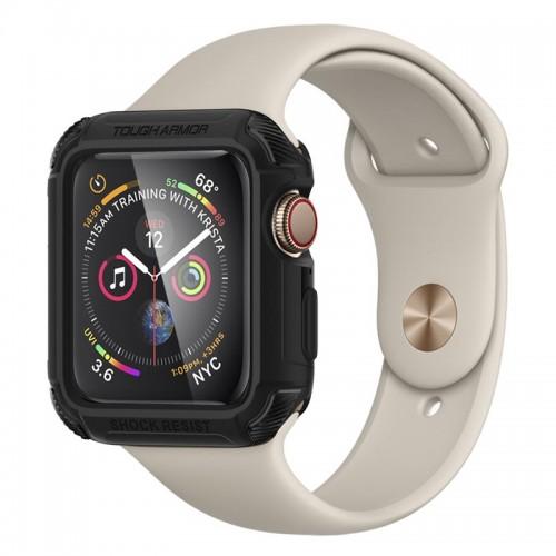 Θήκη Spigen Tough Armor για Apple Watch Series 4 (44mm) (Black)