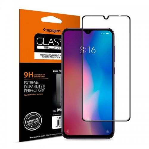 Tempered Glass Spigen Full Cover για Huawei P30 (Black)
