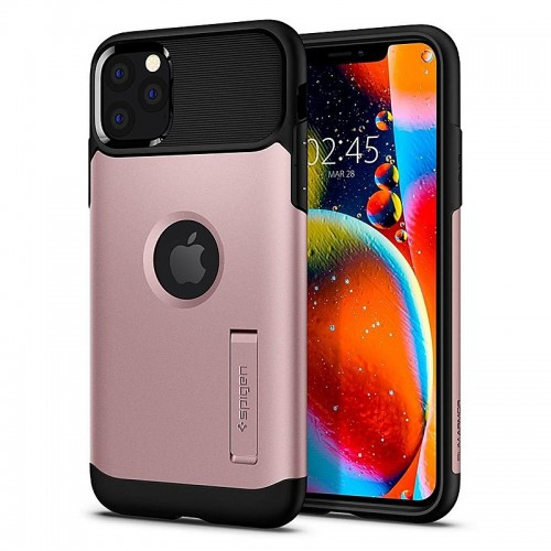 Θήκη Spigen Slim Armor Back Cover για iPhone 11 Pro Max (Rose Gold)