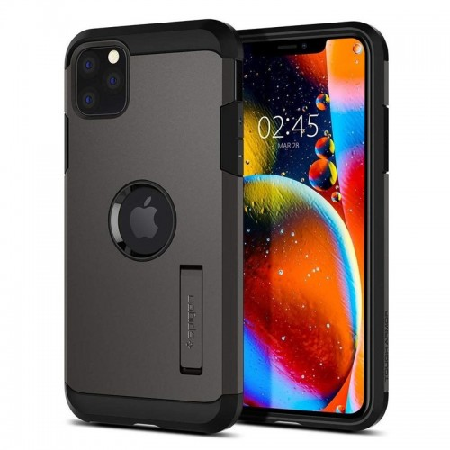 Θήκη Spigen Tough Armor Back Cover για iPhone 11 Pro Max (Gunmetal)