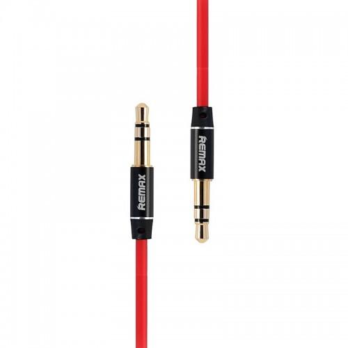 Καλώδιο Remax Aux 3.5mm Jack to Jack 2m (Κόκκινο)