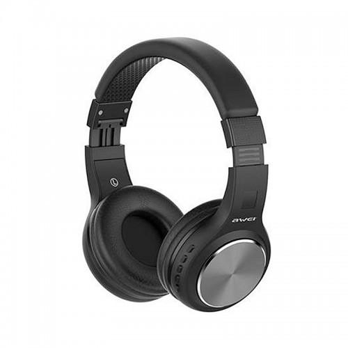 Ακουστικά Bluetooth Stereo Awei A600BL (Ασημί)