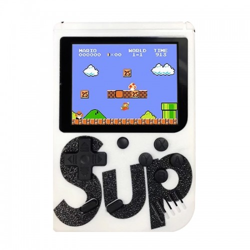 Retro Portable Mini Game Console Sup με 400 Παιχνίδια (Άσπρο)