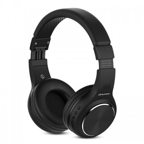 Ακουστικά Bluetooth Stereo Awei A600BL (Μαύρο)