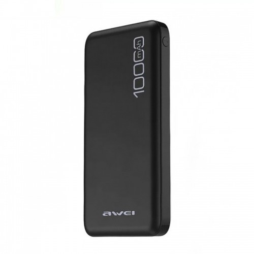 Power Bank Awei P28K 10000mAh (Μαύρο)