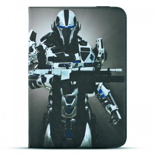 Θήκη Tablet Cyborg Flip Cover για Universal 7-8 (Design)