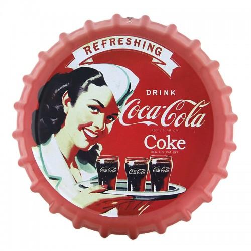 Διακοσμητικό Τοίχου Καπάκι Coca-Cola (Κόκκινο)