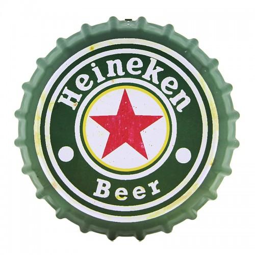Διακοσμητικό Τοίχου Καπάκι Beers (Άσπρο)