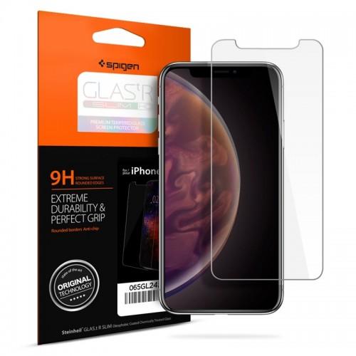 Tempered Glass Spigen για iPhone Xs Max (Διαφανές)