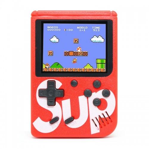 Retro Portable Mini Game Console Sup με 400 Παιχνίδια (Κόκκινο)