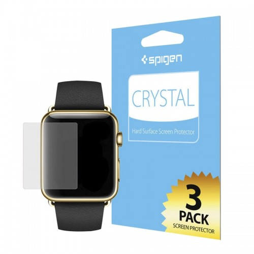 Μεμβράνη Προστασίας Spigen Crystal για Apple Watch 1/2/3 (42mm) (Διαφανές)