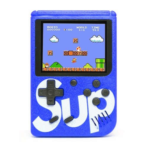 Retro Portable Mini Game Console Sup με 400 Παιχνίδια (Μπλε)