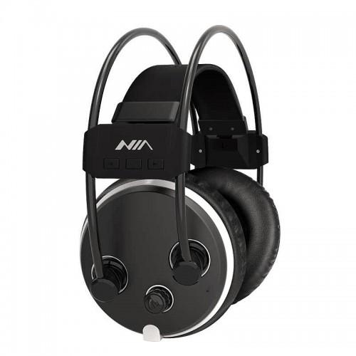 Ακουστικά NIA-S1000 Hi-Fi Stereo Wireless Headphones (Μαύρο)