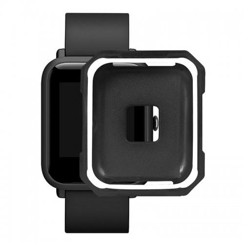 Προστατευτικό Κάλυμμα OEM για Xiaomi Amazfit Bip (Ασπρο-Μαυρο)