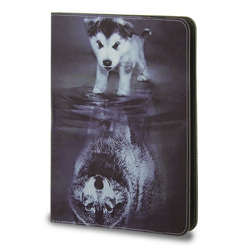 Θήκη Tablet Little Wolf Flip Cover για Universal 9-10' (Design)