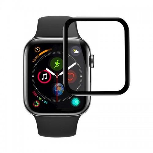 Tempered Glass Curved Full Glue για Apple Watch 42mm (Black)