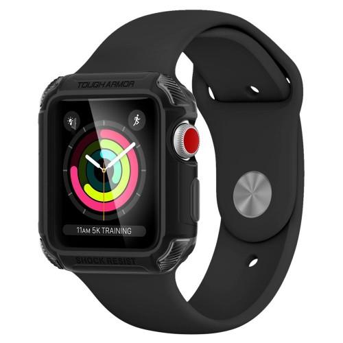 Θήκη Spigen Tough Armor 2 για Apple Watch Series 3/2/1 (42mm) (Μαύρο Ματ)