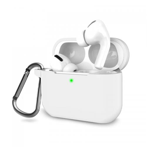 Θήκη OEM Σιλικόνης για Apple Airpods Pro (White)
