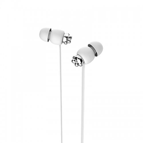 Ακουστικά Handsfree Yookie YK1080 (Άσπρο)