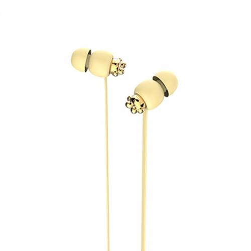 Ακουστικά Handsfree Yookie YK1080 (Κίτρινο)