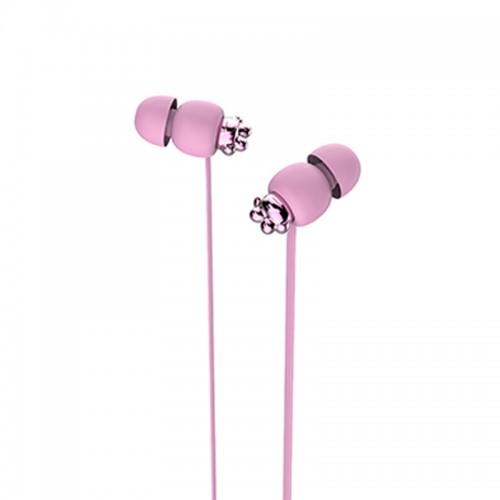 Ακουστικά Handsfree Yookie YK1080 (Ροζ)