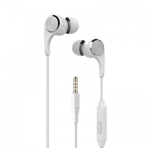 Ακουστικά Handsfree Yookie YK910 (Άσπρο)