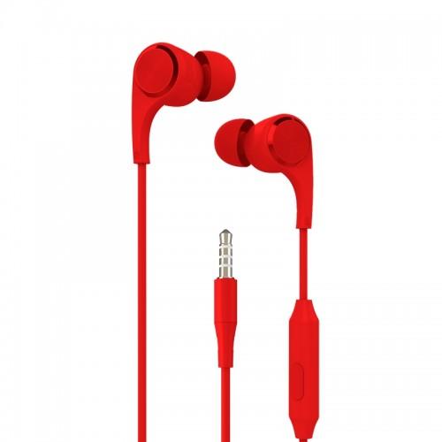Ακουστικά Handsfree Yookie YK910 (Κόκκινο)