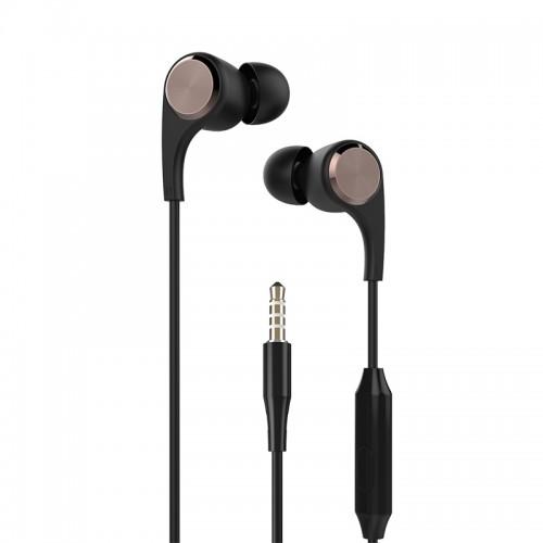 Ακουστικά Handsfree Yookie YK910 (Μαύρο)